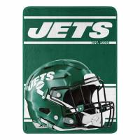 New York Jets Run Super Plush NFL Decke