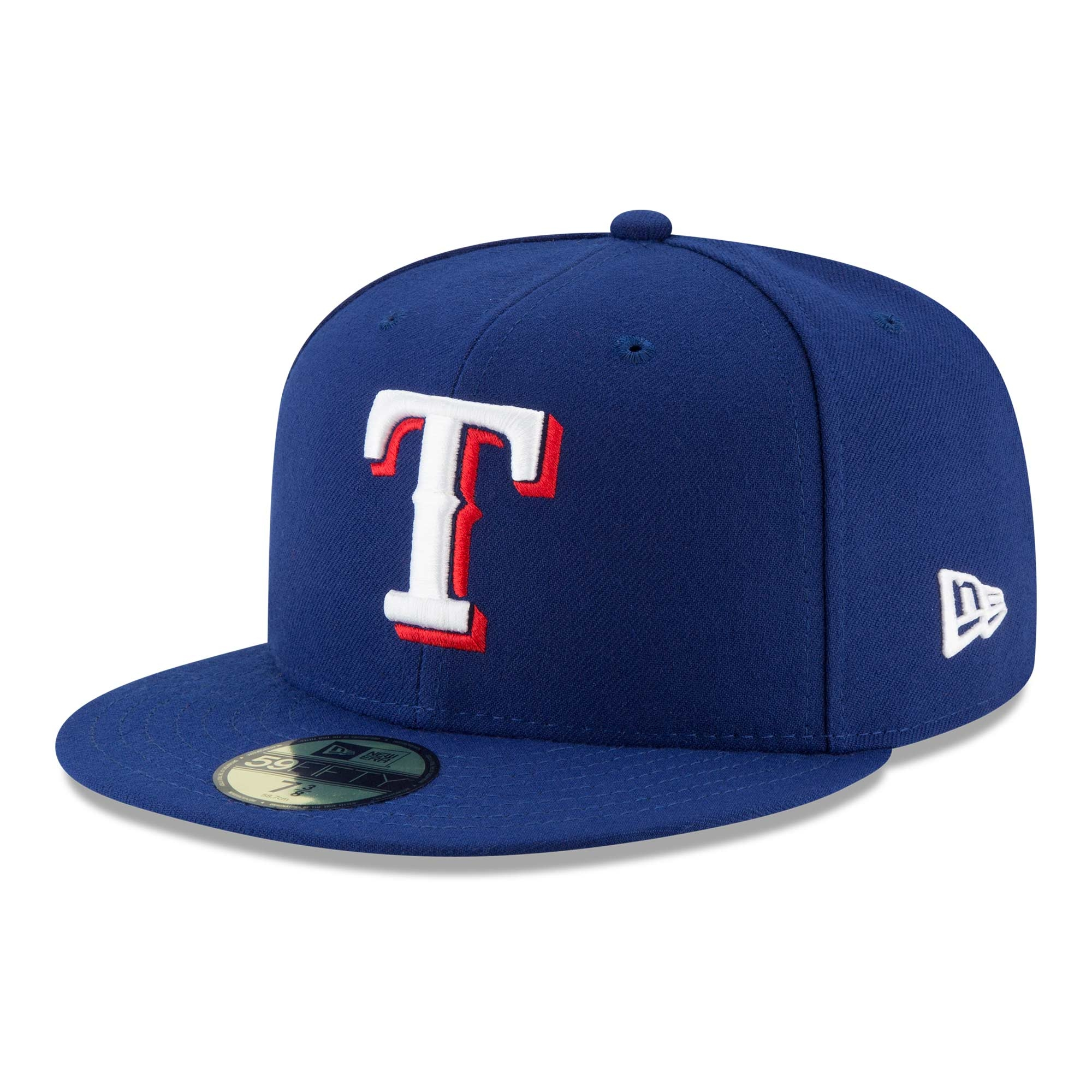 buy popular 9db16 7a2df New Era Texas Rangers Authentic 59FIFTY Fitted MLB Cap Game   TAASS.com Fan  Shop