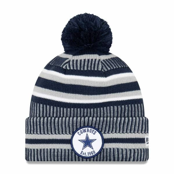 Dallas Cowboys 2019 NFL Sideline Sport Knit Wintermütze Home