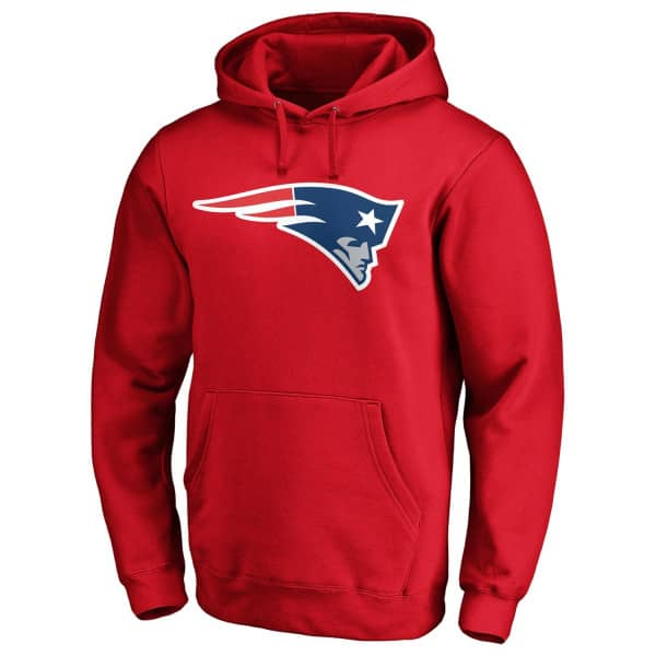 New England Patriots Logo Fanatics NFL Hoodie Rot