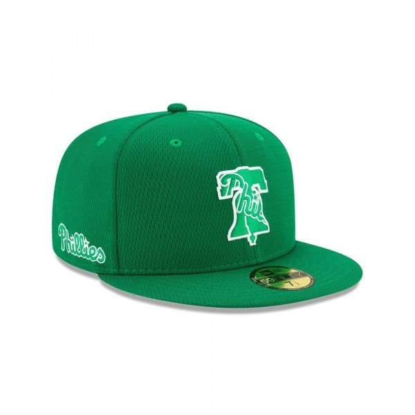 Philadelphia Phillies 2020 Authentic St. Patrick's Day 59FIFTY Fitted MLB Cap