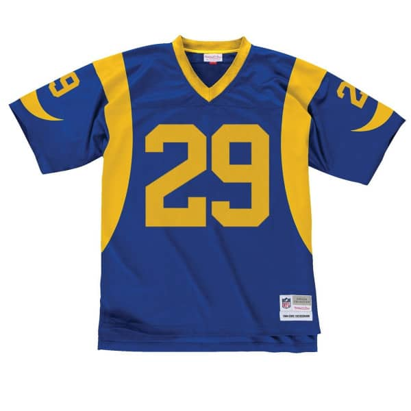 Eric Dickerson #29 Los Angeles Rams Mitchell & Ness Legacy Throwback NFL Trikot Blau