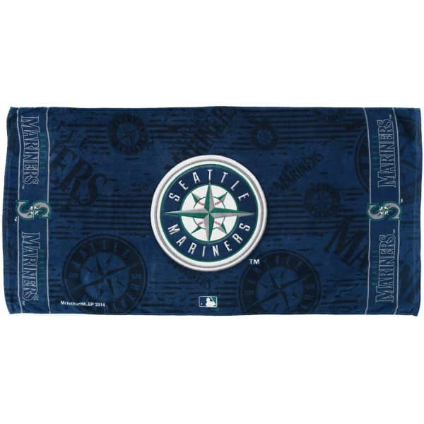 Seattle Mariners Baseball MLB Strandtuch