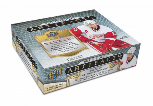 2015/16 Upper Deck Artifacts Hockey Hobby Box NHL