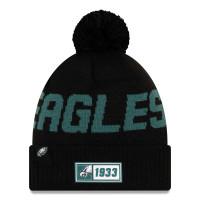 Philadelphia Eagles Reverse 2019 NFL Sideline Sport Knit Wintermütze Road