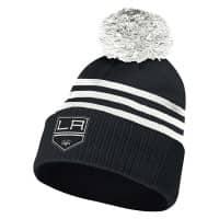Los Angeles Kings 2020/21 NHL adidas 3-Stripe Wintermütze