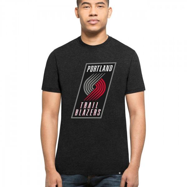 Portland Trail Blazers Club NBA T-Shirt Schwarz