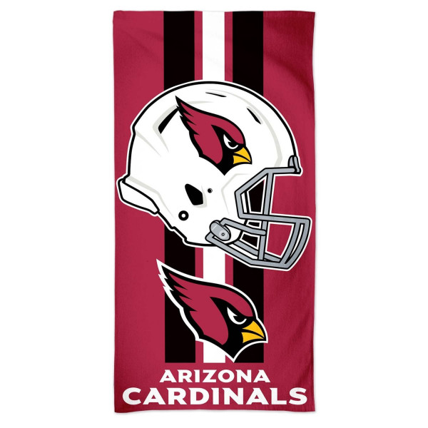 pretty nice e437a f794e WinCraft Arizona Cardinals Helmet Fiber NFL Beach Towel   TAASS.com Fan Shop