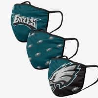 Philadelphia Eagles NFL Face Mask Mundschutz MNS (3er-Pack)