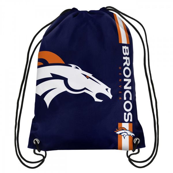 Denver Broncos Cropped Logo NFL Turnbeutel