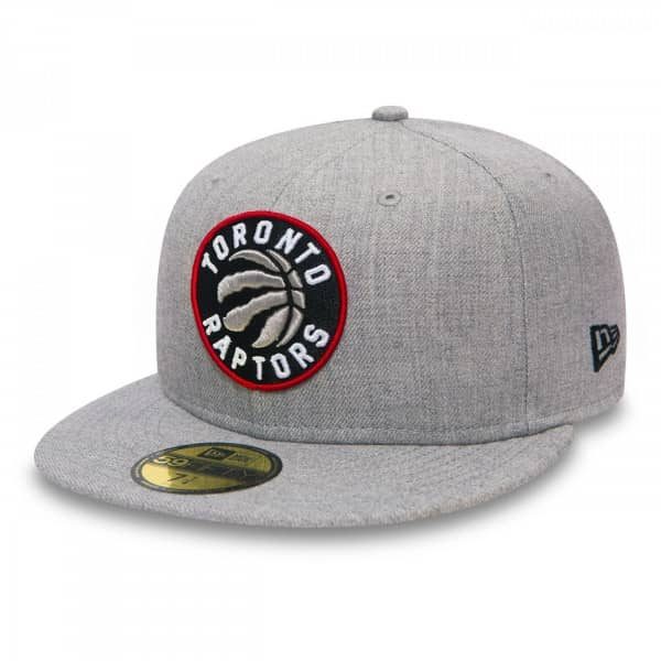 outlet store 826ff 2dc42 Toronto Raptors Heather 59FIFTY Fitted NBA Cap