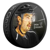 Drew Doughty Los Angeles Kings Star Player NHL Puck