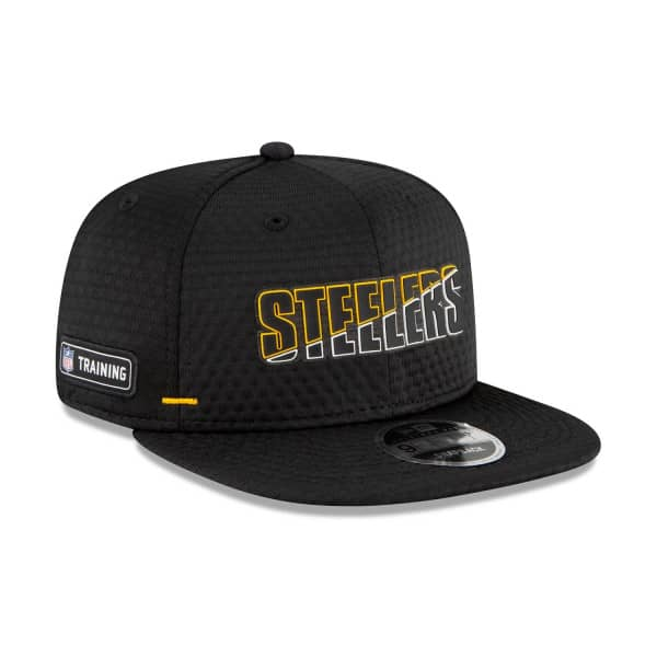 Pittsburgh Steelers 2020 Summer Sideline New Era Original Fit 9FIFTY Snapback NFL Cap