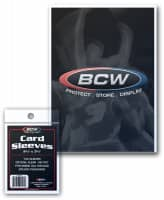 BCW Card Sleeves Soft - 100 Stk. per Packung