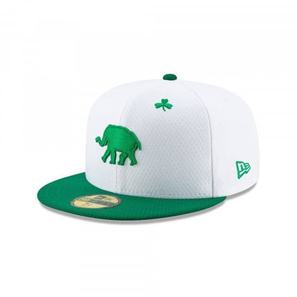 Oakland Athletics 2019 St. Patrick's Day 59FIFTY Fitted MLB Cap