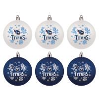 Tennessee Titans NFL Weihnachtskugeln Geschenk-Set (6-Teilig)
