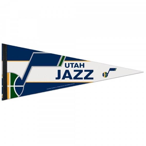 Utah Jazz Big Logo Premium NBA Wimpel