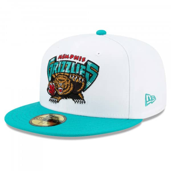 Memphis Grizzlies 2021 NBA Hardwood Classic Nights New Era 59FIFTY Fitted Cap