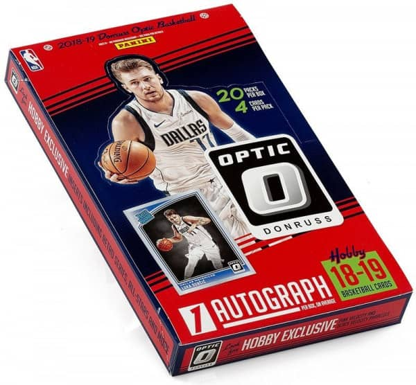 2018/19 Panini Donruss Optic Basketball Hobby Box NBA
