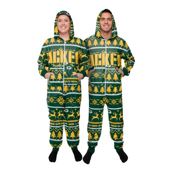 Green Bay Packers Holiday One Piece NFL Schlafanzug