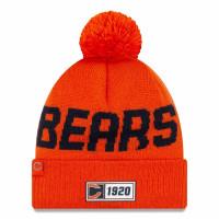 Chicago Bears Reverse 2019 NFL Sideline Sport Knit Wintermütze Road