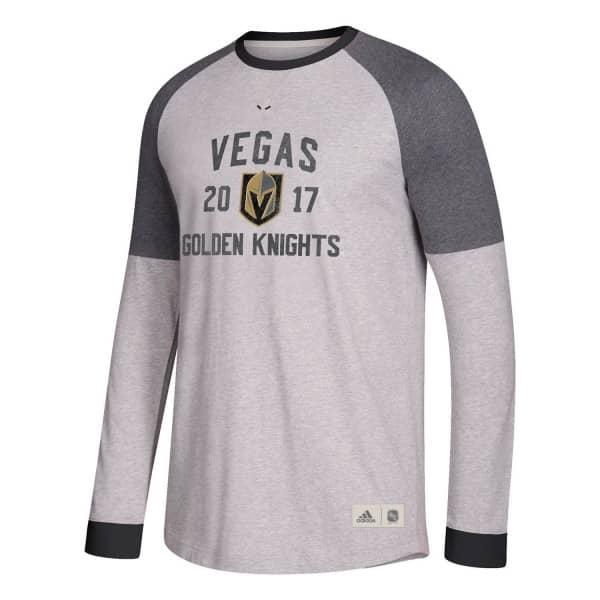 327af470a adidas Vegas Golden Knights Vintage NHL Long Sleeve Shirt