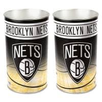 Brooklyn Nets NBA Metall Papierkorb