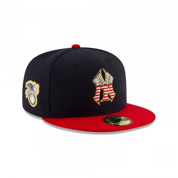New York Yankees 4th of July 2019 59FIFTY Fitted MLB Cap