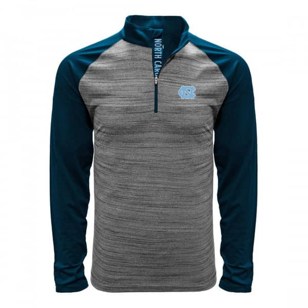 North Carolina Tar Heels Vandal Quarter Zip NCAA Shirt