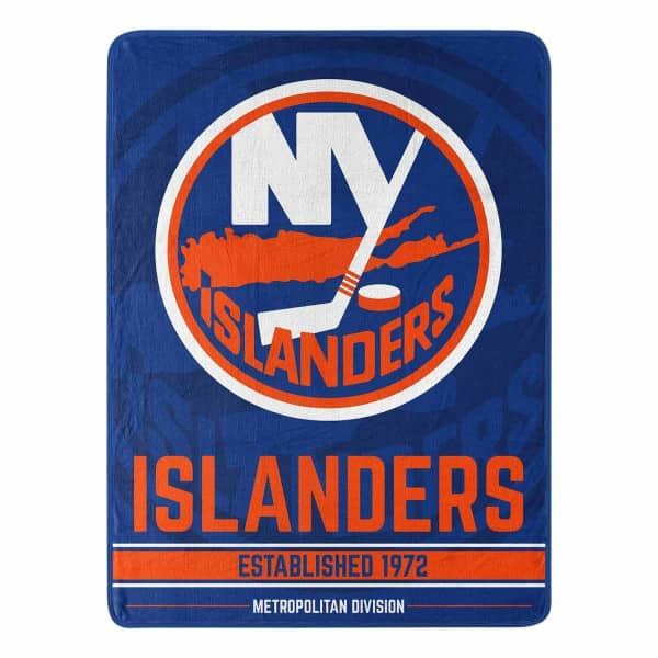 New York Islanders Breakaway Northwest Super Plush NHL Decke