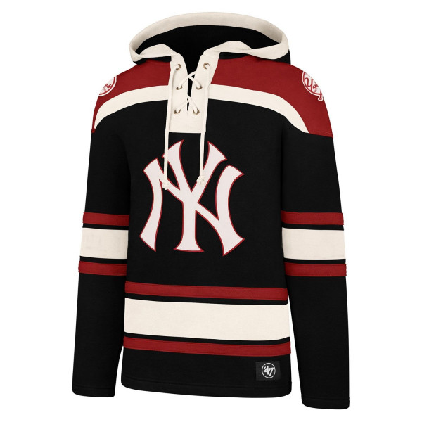 New York Yankees Lacer Jersey Hoodie MLB Sweatshirt