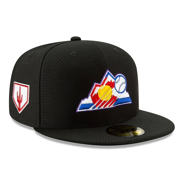 buy online 24caa 5b4ee New Era Colorado Rockies 2019 Spring Training 59FIFTY Fitted MLB Cap   TAASS .com Fan Shop