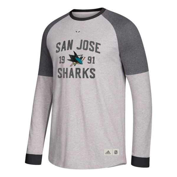 San Jose Sharks Vintage NHL Long Sleeve Shirt