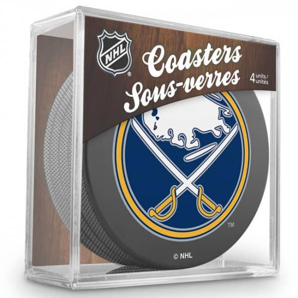 Buffalo Sabres NHL Eishockey Puck Untersetzer (4er Set)