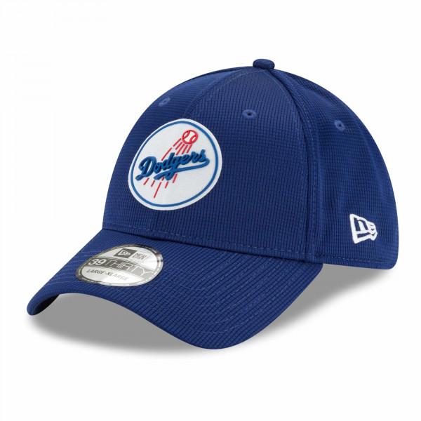 Los Angeles Dodgers 2021 MLB Authentic Clubhouse New Era 39THIRTY Flex Cap