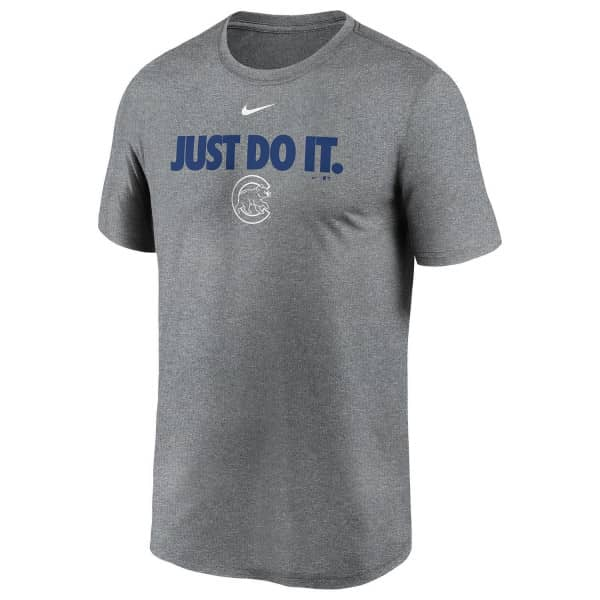 Chicago Cubs Just Do It Nike Legend MLB T-Shirt