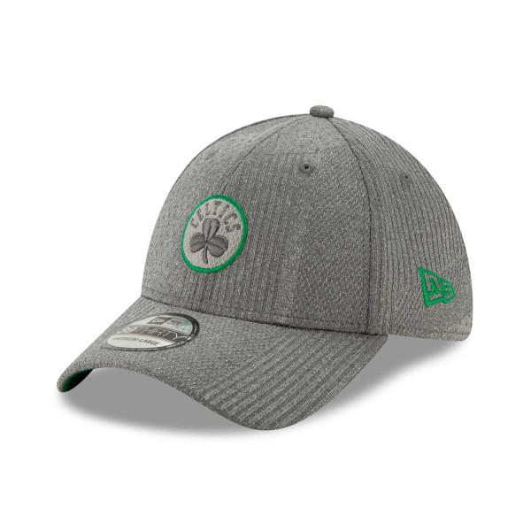 Boston Celtics 2019 NBA Authentics Training 39THIRTY Stretch Fit Cap