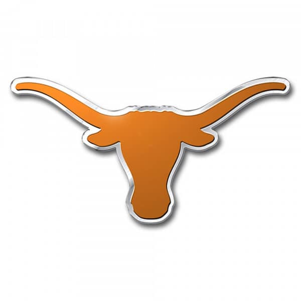 Texas Longhorns Aluminium Color NCAA Team Emblem