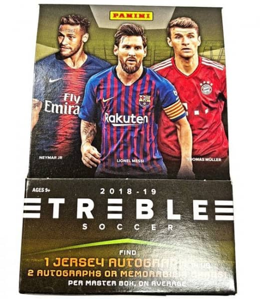 2018/19 Panini Select Soccer Hobby Box