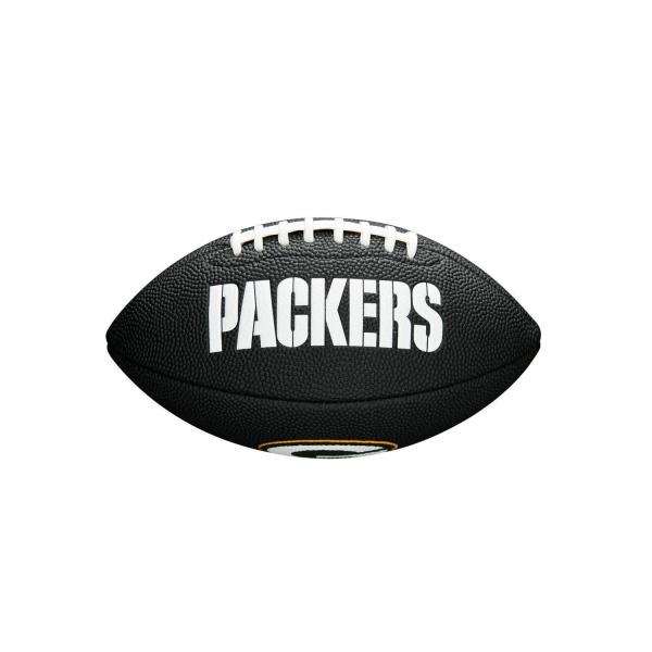 Green Bay Packers NFL Mini Football Schwarz