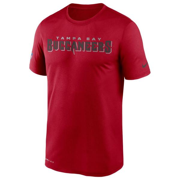Tampa Bay Buccaneers 2020 NFL Sideline Nike Legend T-Shirt Rot