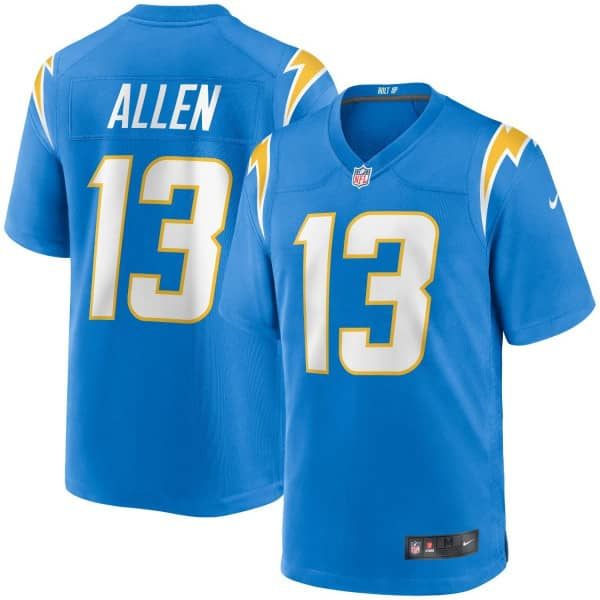 Keenan Allen #13 Los Angeles Chargers Nike Game NFL Trikot Powder Blue