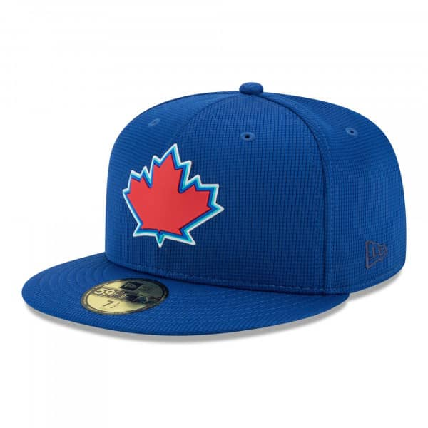 Toronto Blue Jays 2021 MLB Authentic Clubhouse New Era 59FIFTY Fitted Cap