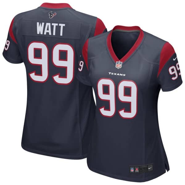 J.J. Watt #99 Houston Texans Game Football NFL Trikot Navy (DAMEN)