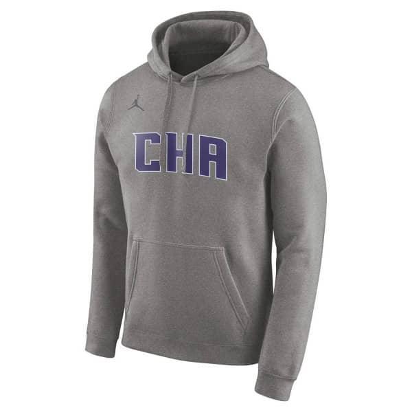 Charlotte Hornets 2019/20 Jordan City Edition NBA Pullover Hoodie