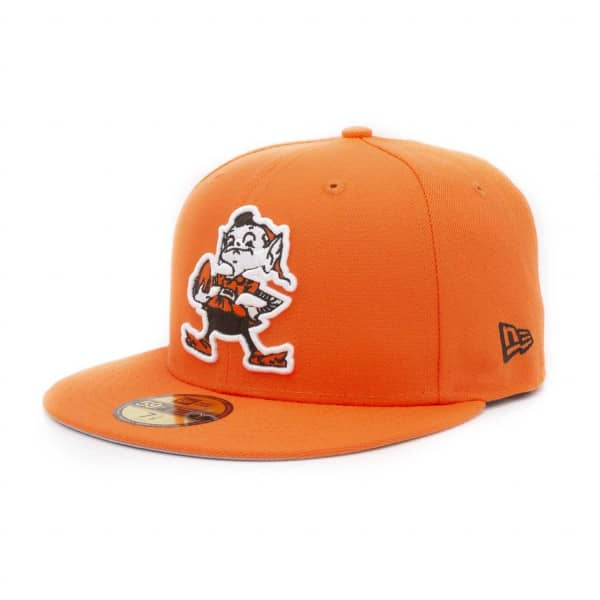 Cleveland Browns 1959 Throwback 59FIFTY Fitted NFL Cap Orange