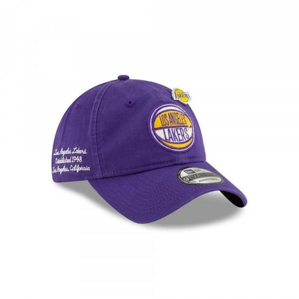 Los Angeles Lakers 2019 NBA Draft 9TWENTY Adjustable Cap