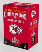 2020 Panini Super Bowl LIV Box Set Kansas City Chiefs NFL