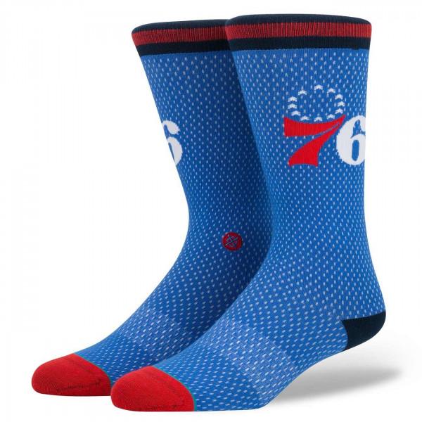 763edde46e7d Stance Philadelphia 76ers Jersey NBA Socks Blue