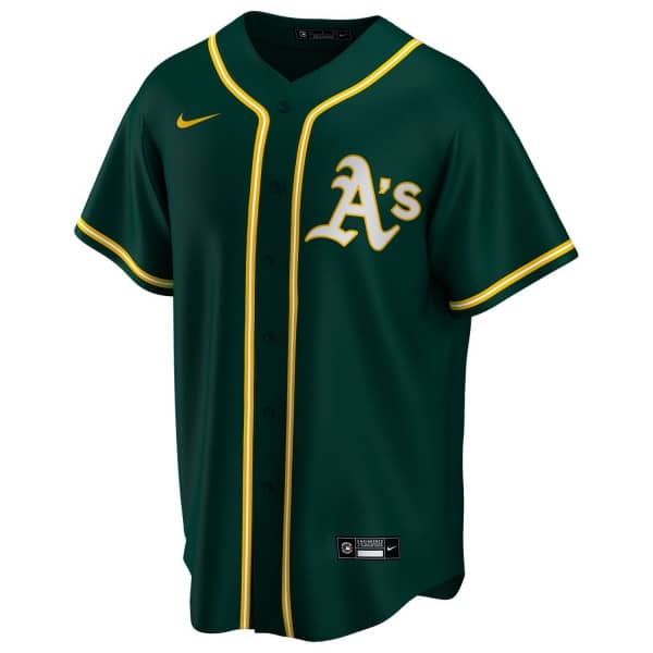 Oakland Athletics 2020 Nike MLB Replica Alternate Trikot Grün